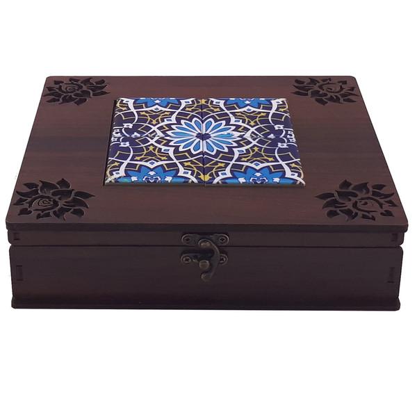 جعبه چای کیسه ای مدل فیروزه