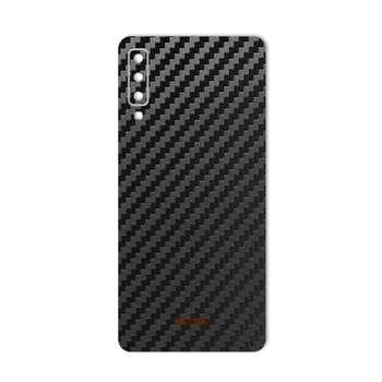 برچسب پوششی ماهوت مدل Carbon-fiber Texture مناسب برای گوشی سامسونگ A7 2018