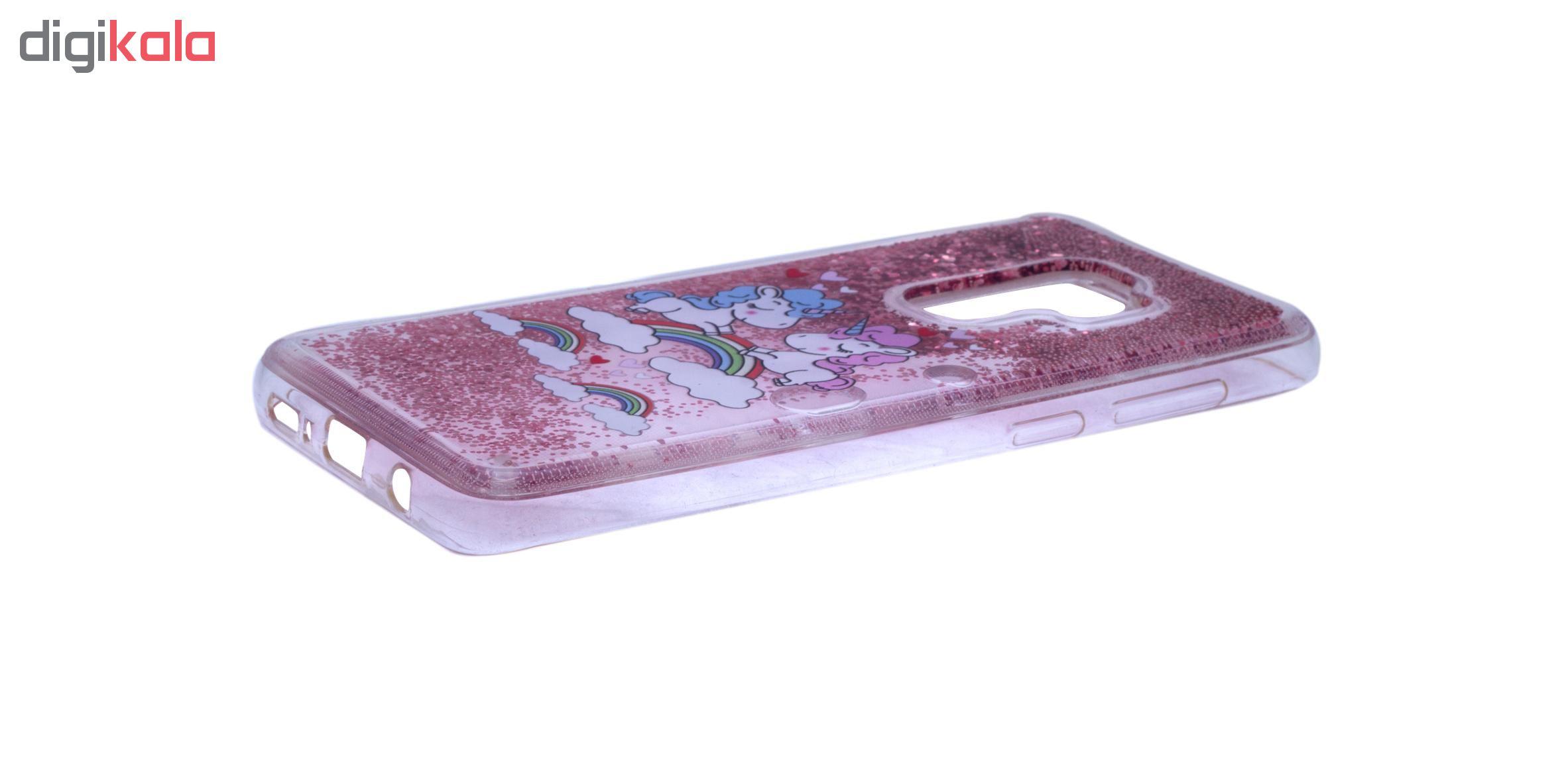 کاور مدل آکواریومی طرح هارت فلر مناسب برای گوشی موبایل سامسونگ Galaxy S9 Plus thumb 2 4