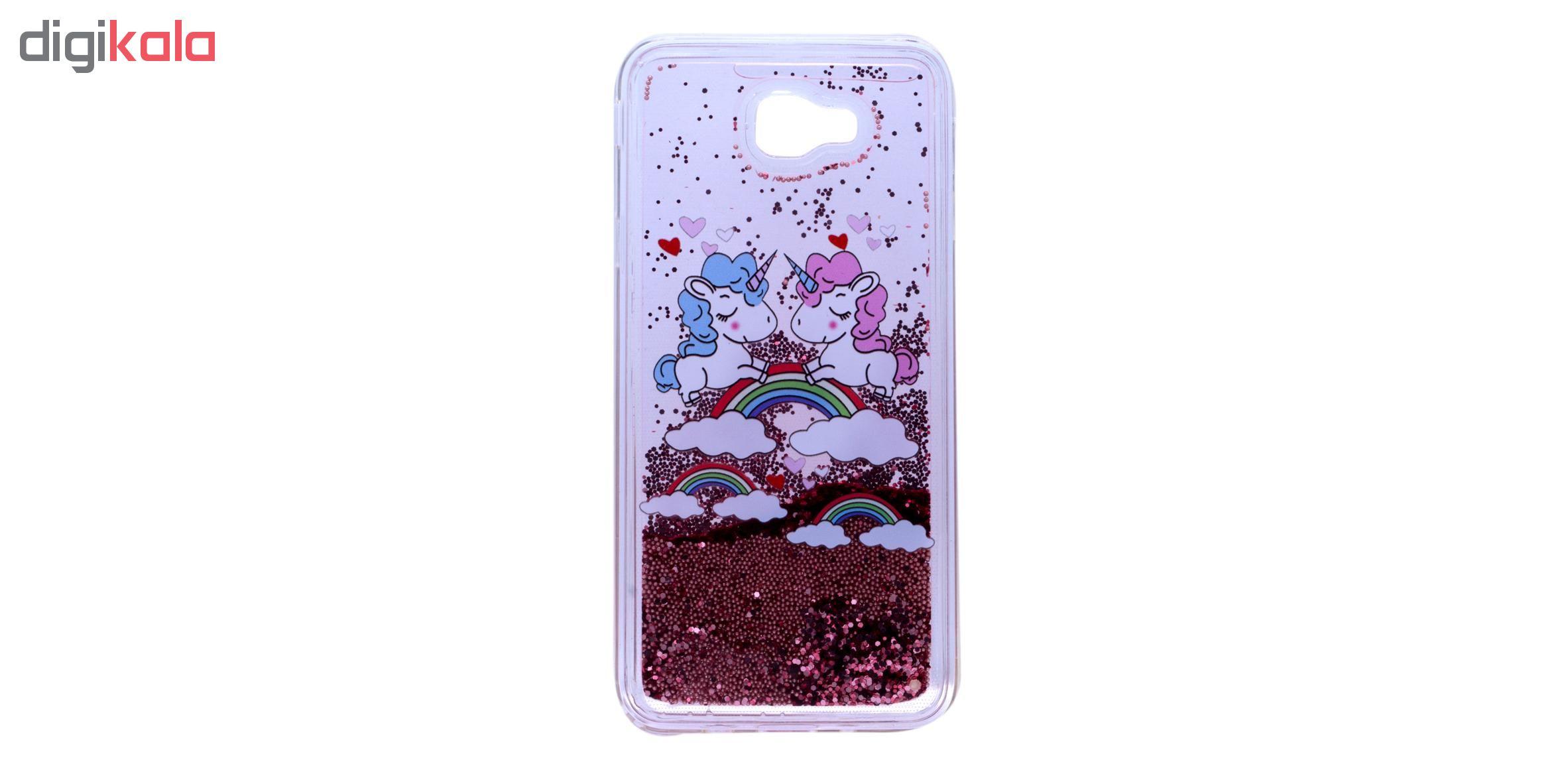 کاور مدل آکواریومی طرح هارت فلر مناسب برای گوشی موبایل سامسونگ Galaxy J7 Prime thumb 2 1