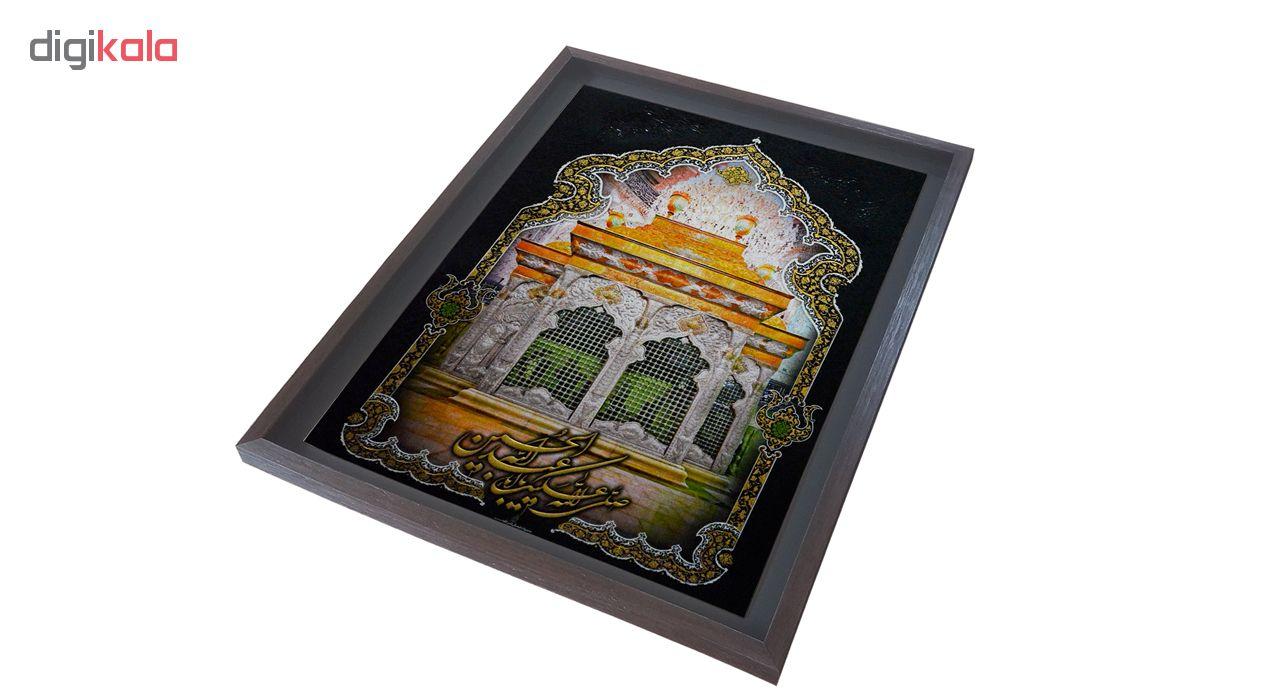 تابلو لوح هنر طرح ضریح امام حسین علیه السلام کد 829 thumb 2 2