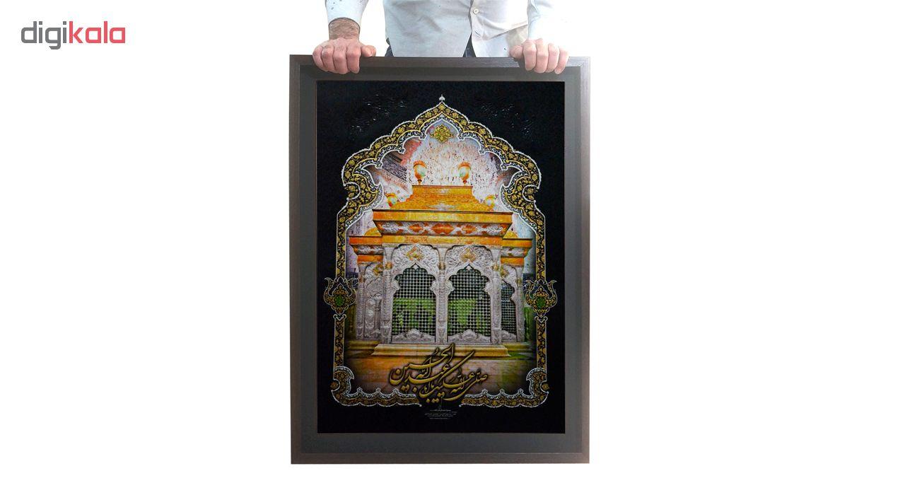 تابلو لوح هنر طرح ضریح امام حسین علیه السلام کد 829 thumb 2 3
