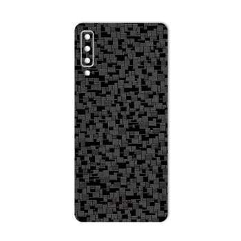 برچسب پوششی ماهوت مدل Silicon Texture مناسب برای گوشی سامسونگ A7 2018