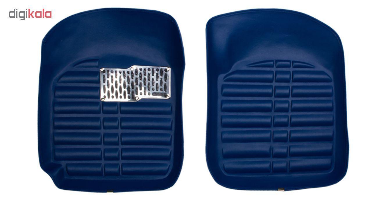 کفپوش سه بعدی خودرو Sport Car مدل PR2 مناسب برای پراید، تیبا، تیبا 2 و ساینا main 1 2