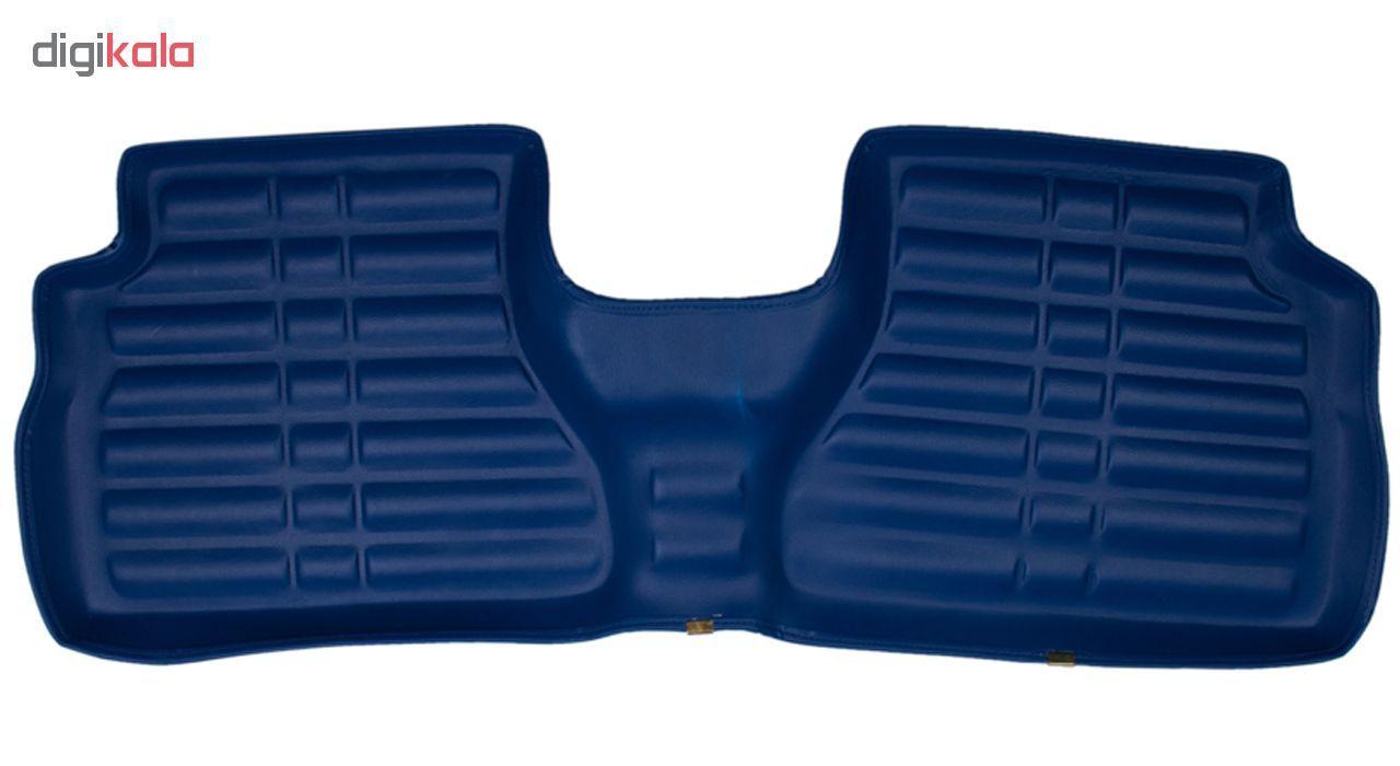 کفپوش سه بعدی خودرو Sport Car مدل PR2 مناسب برای پراید، تیبا، تیبا 2 و ساینا main 1 3
