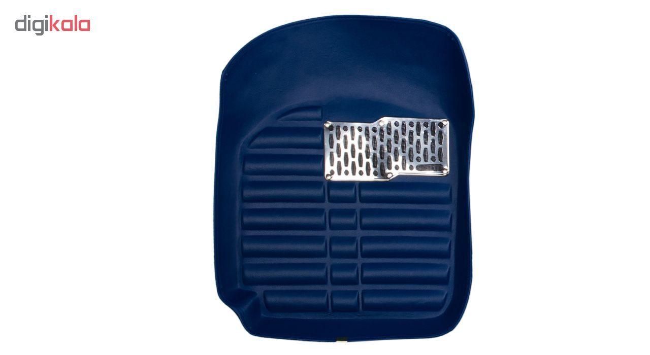 کفپوش سه بعدی خودرو Sport Car مدل PR2 مناسب برای پراید، تیبا، تیبا 2 و ساینا main 1 5