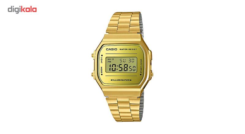 ساعت مچی دیجیتالی کاسیو مدل A168WEGM-9DF