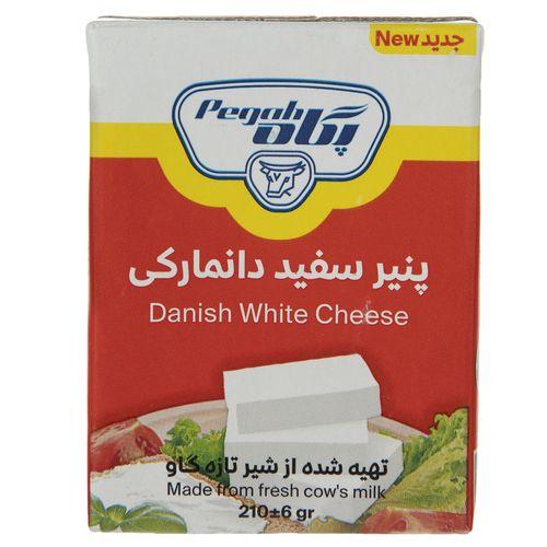 پنیر سفید دانمارکی پگاه مقدار 210 گرم