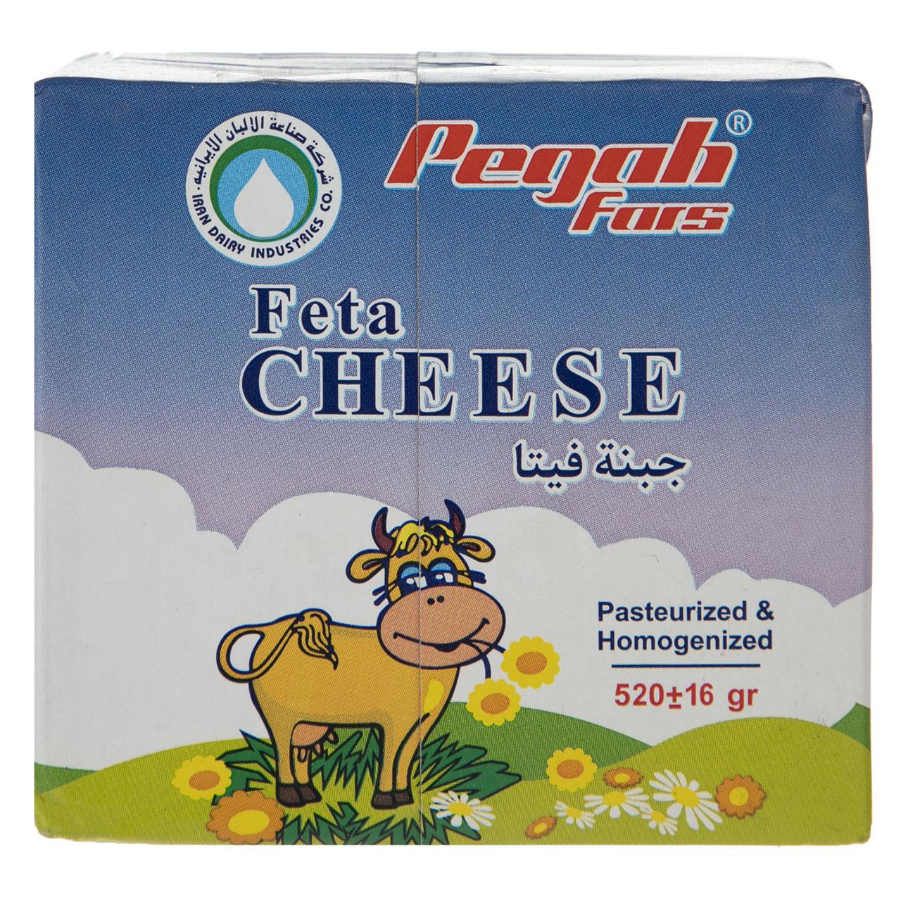 پنیر فتا پگاه مقدار 520 گرم