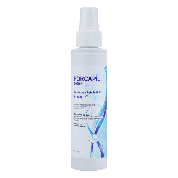 لوسیون ضد ریزش مو فورکاپیل مدل STRANGE HAIR حجم 200 میلی لیتر