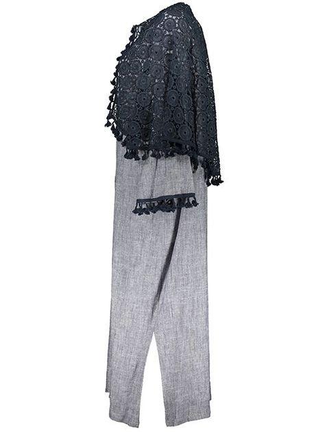 مانتو زنانه سارا حمیدی طرح لیزا مدل 1041-10 -  - 2