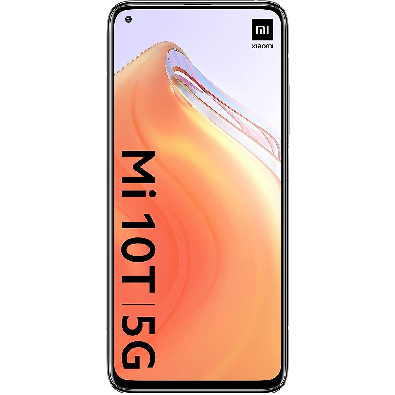گوشی موبایل شیائومی مدل Mi 10T 5G M2007J3SY دو سیم کارت ظرفیت ۱۲۸ گیگابایت و رم ۶ گیگابایت