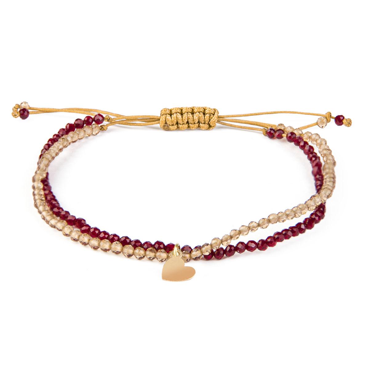 دستبند طلا 18 عیار زنانه ریسه گالری مدل 1299