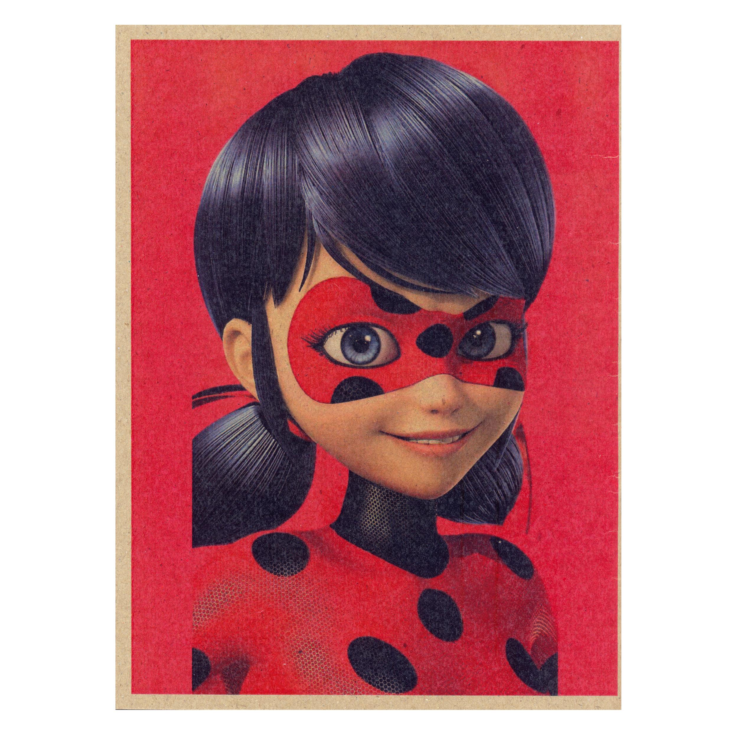 دفتر نقاشی ژوست طرح دختر کفشدوزکی مدل کژوال