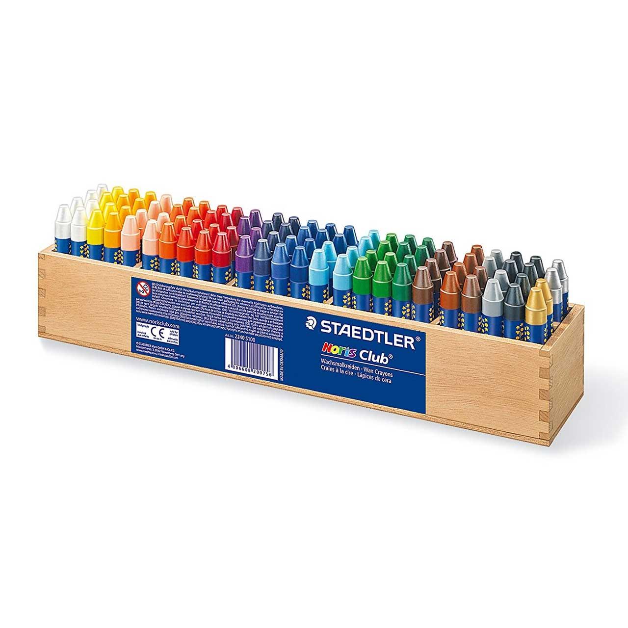مداد شمعی استدلر کد S100 2240 مدل نوریس کلاب 100 عددی