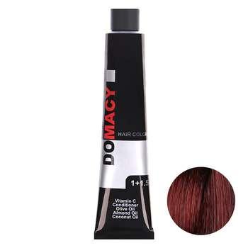 رنگ مو دوماسی سری قرمز شماره 4.6 حجم 120 میلی لیتر رنگ قرمز رویایی