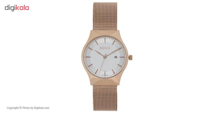 ساعت مچی عقربه ای زنانه بونیا مدل BNB10207-2512S