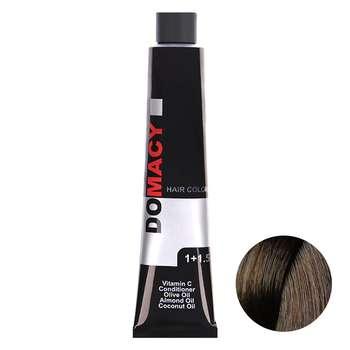 رنگ مو دوماسی سری کافی شاپ شماره 6.17 حجم 120 میلی لیتر رنگ بلوند نسکافه ای تیره متوسط