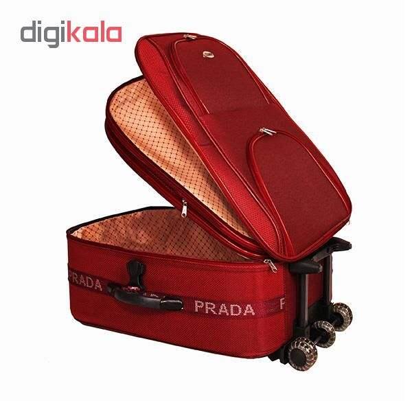 مجموعه دو عددی چمدان پرادا مدل 01 main 1 3