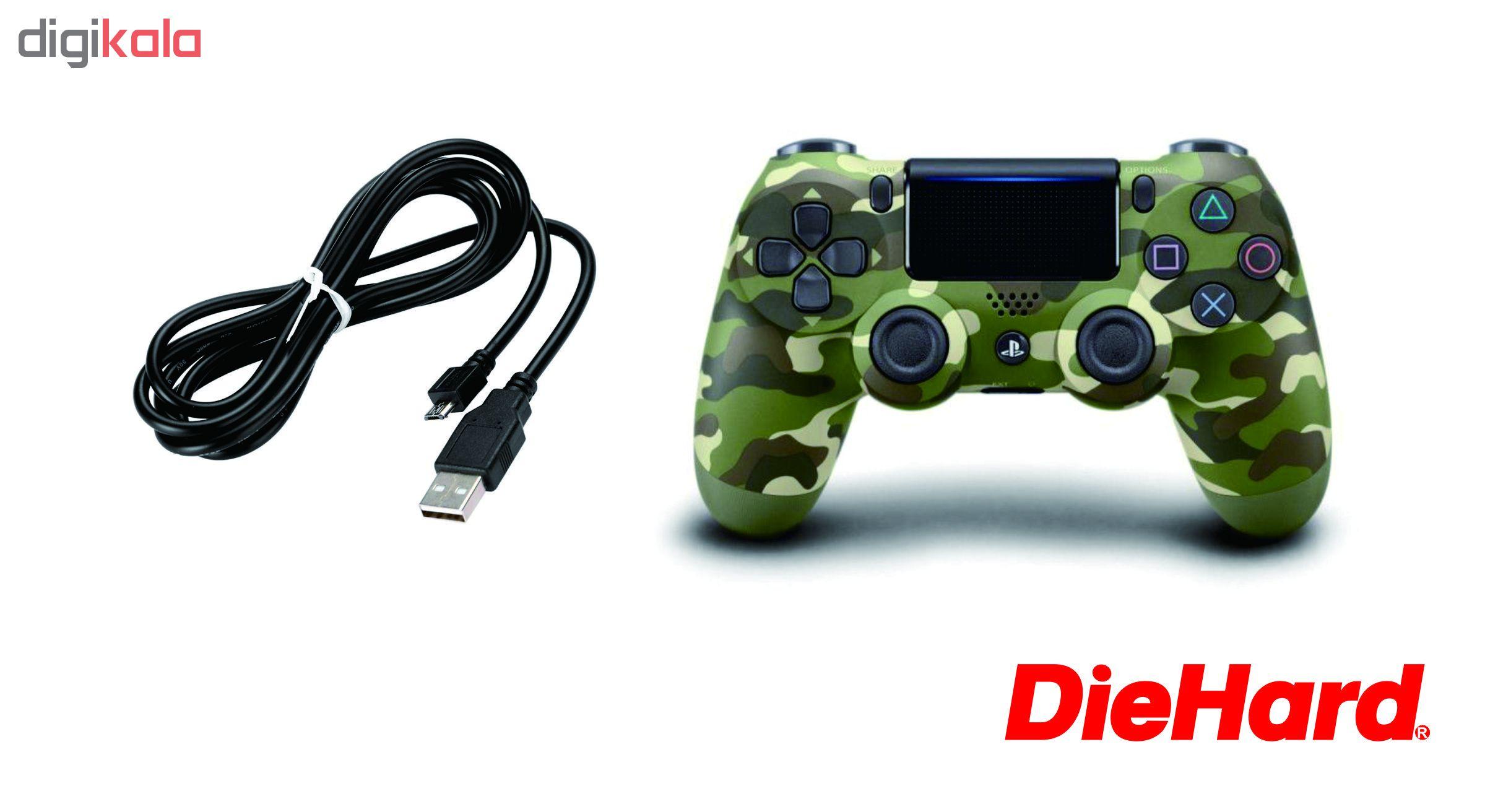 دسته بازی با سیم مدل Die-Hard مناسب برای PS4