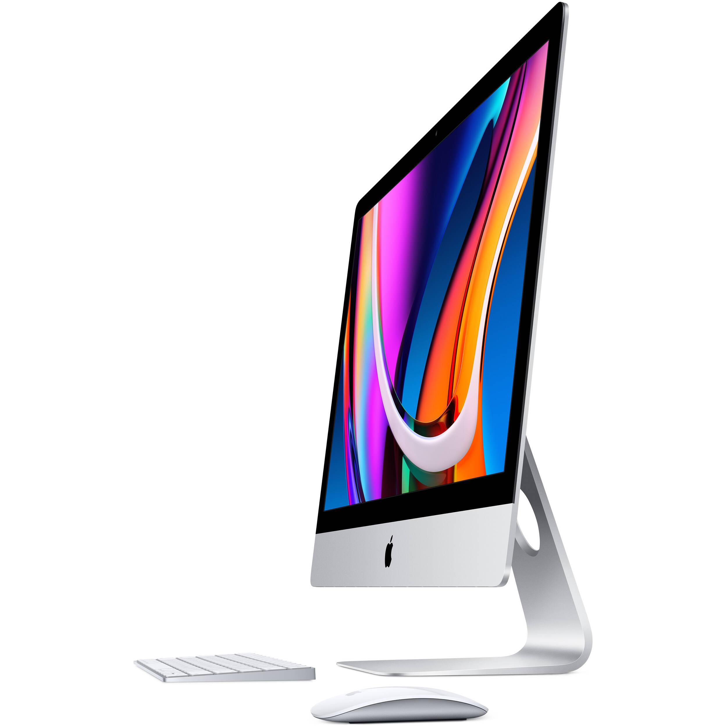 کامپیوتر همه کاره 27 اینچی اپل مدل iMac MXWT2 2020 با صفحه نمایش رتینا 5K  main 1 1