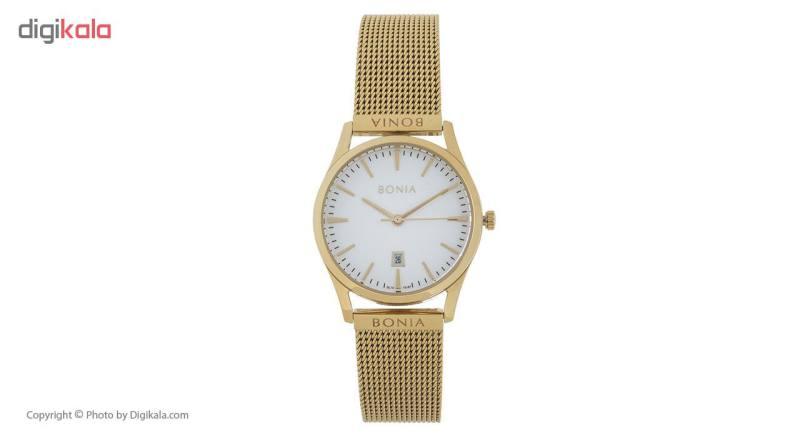 ساعت مچی عقربه ای زنانه بونیا مدل BNB10207-2212S