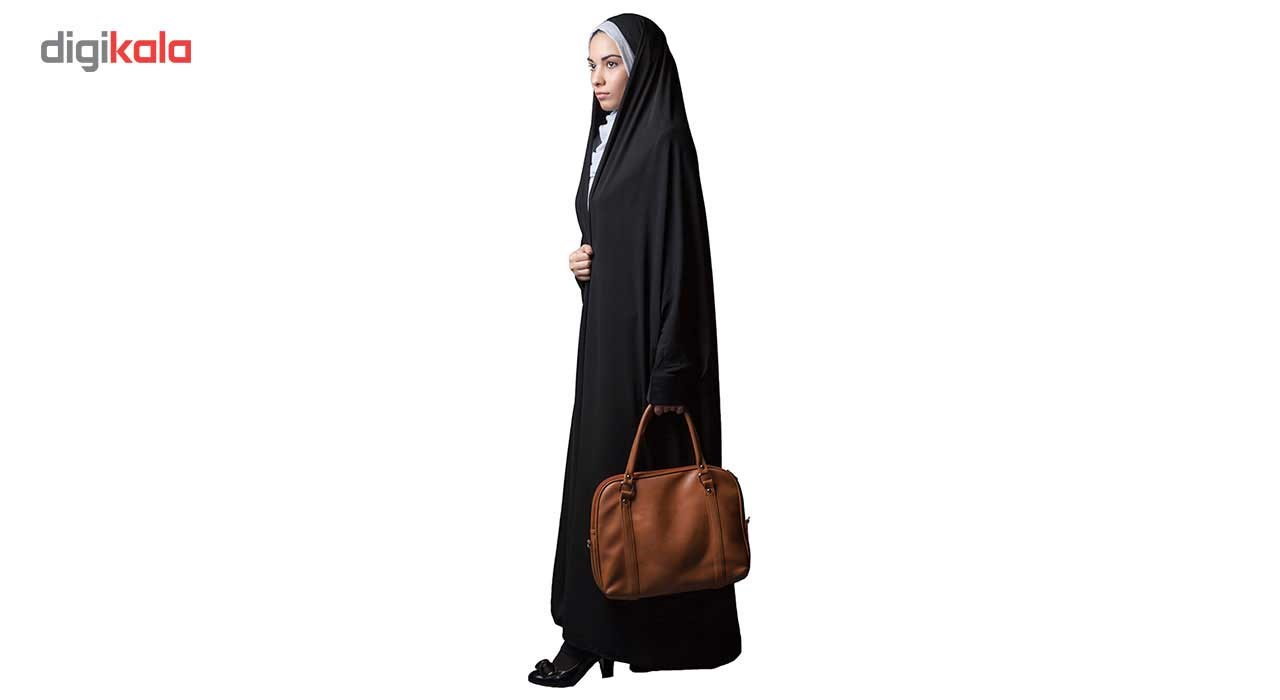 چادر دانشجوئی نرجس کریستال حجاب فاطمی مدل 201181
