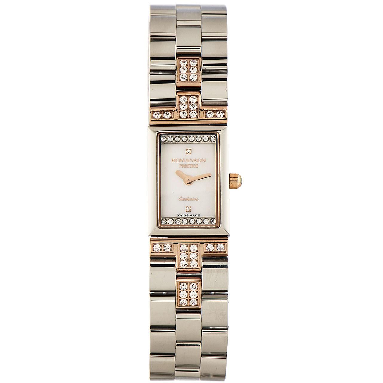 ساعت مچی عقربه ای زنانه رومانسون مدل RM3255CL1JM16R 14
