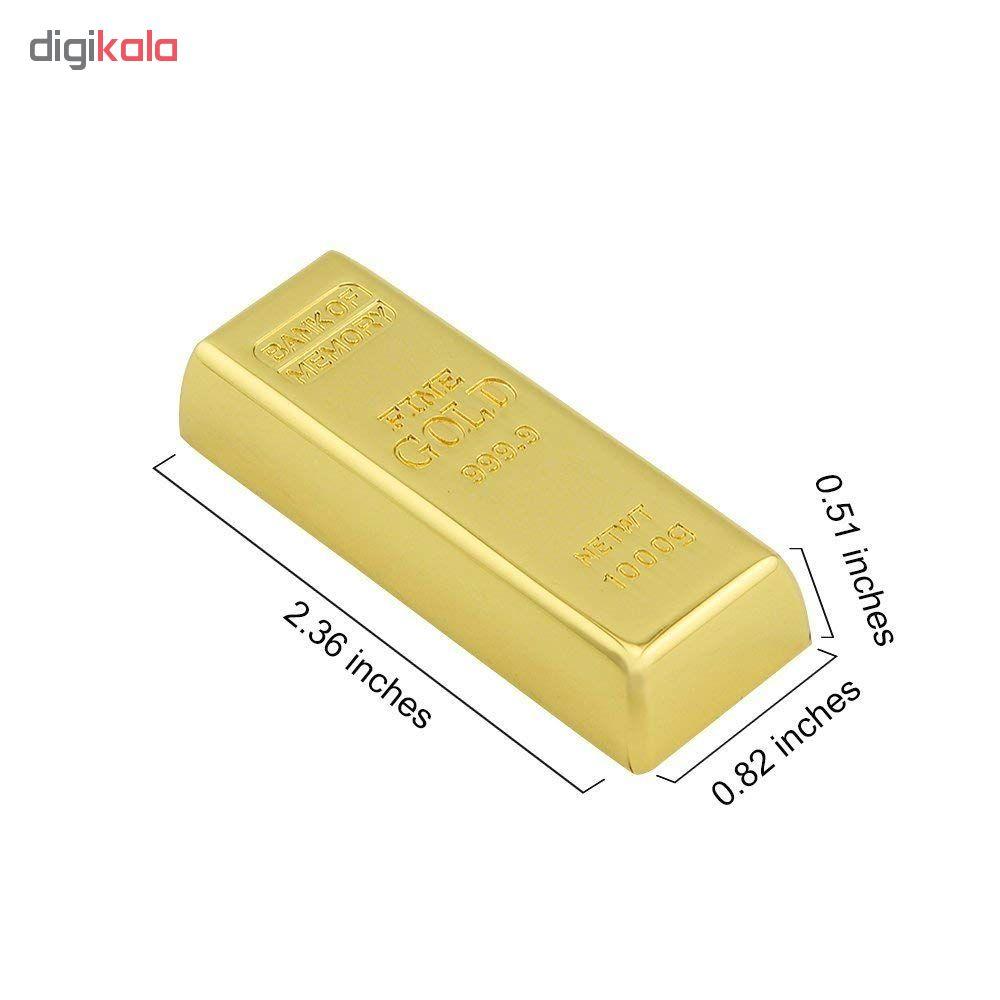 فلش مموری طرح شمش طلا ظرفیت 16 گیگابایت