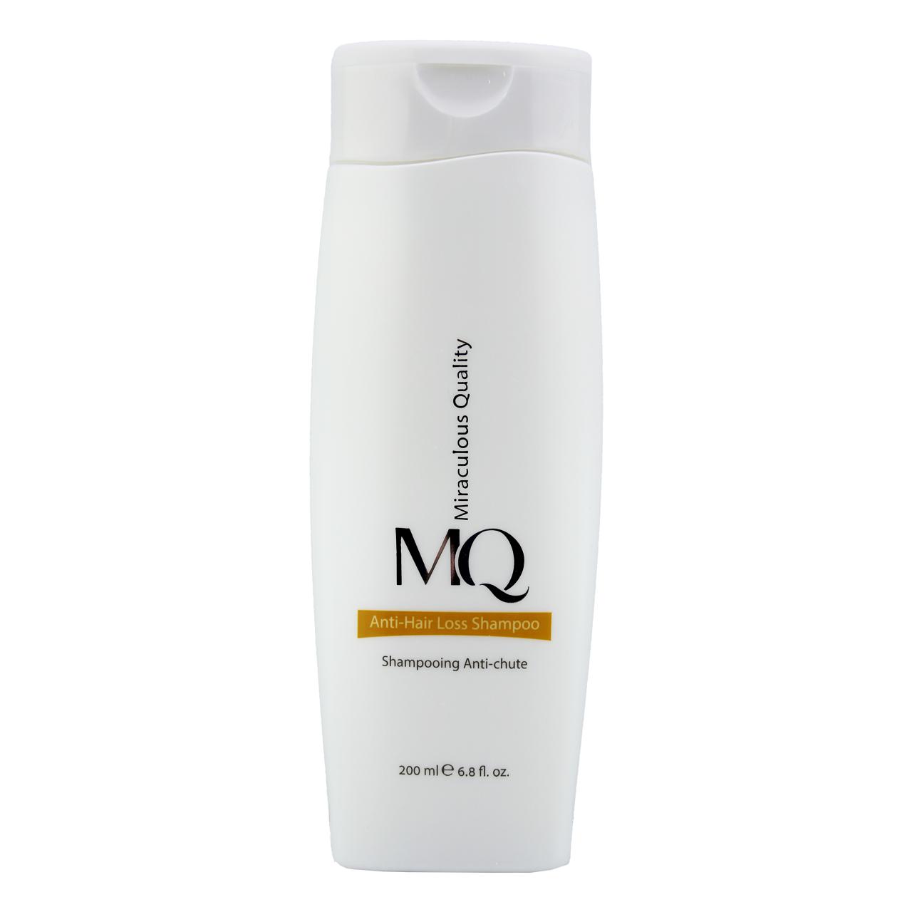 خرید                      شامپو ضد ریزش و تقویت کننده مو ام کیو مدل Anti-Hair Loss حجم 200 میلی لیتر