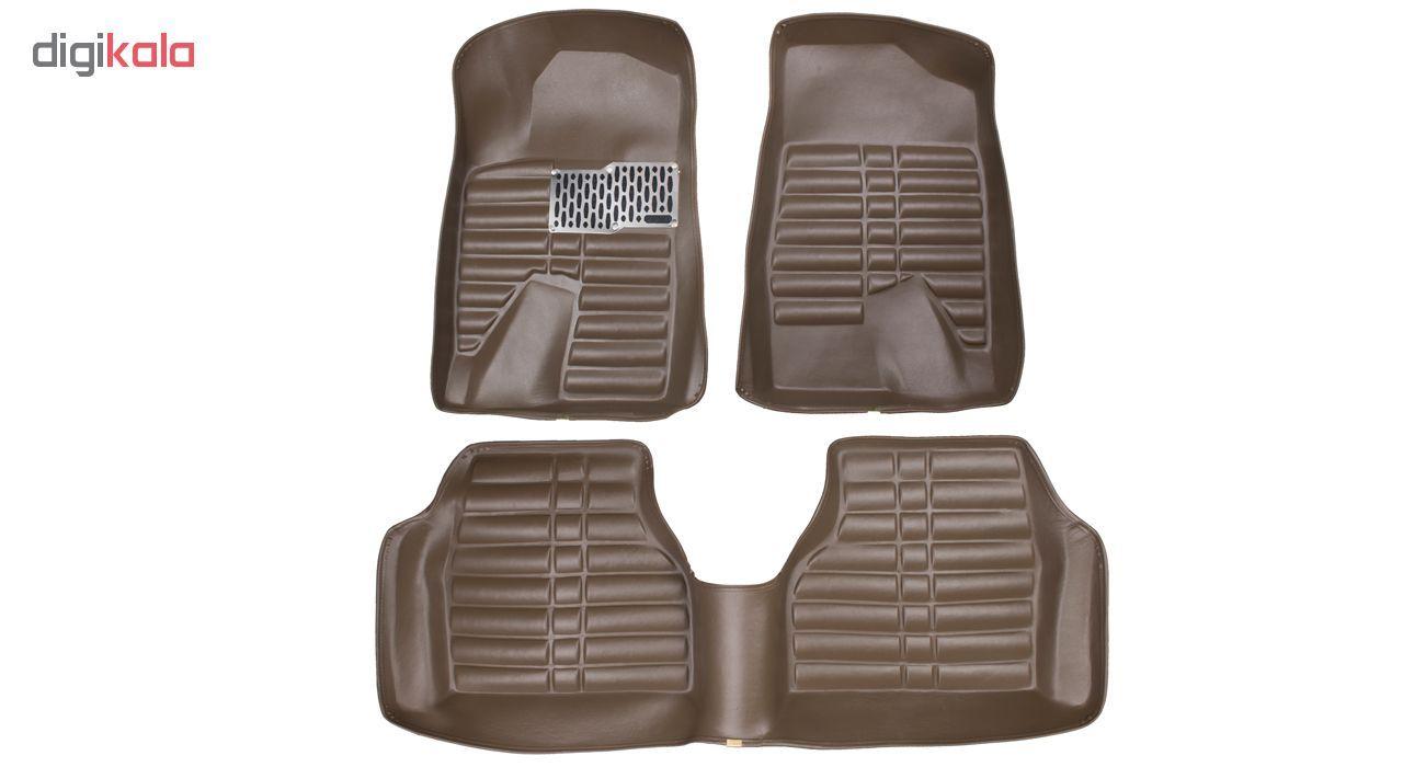 کفپوش سه بعدی خودرو Sport Car مدل P4 مناسب برای پژو 405، پرشیا، سمند و رانا main 1 1