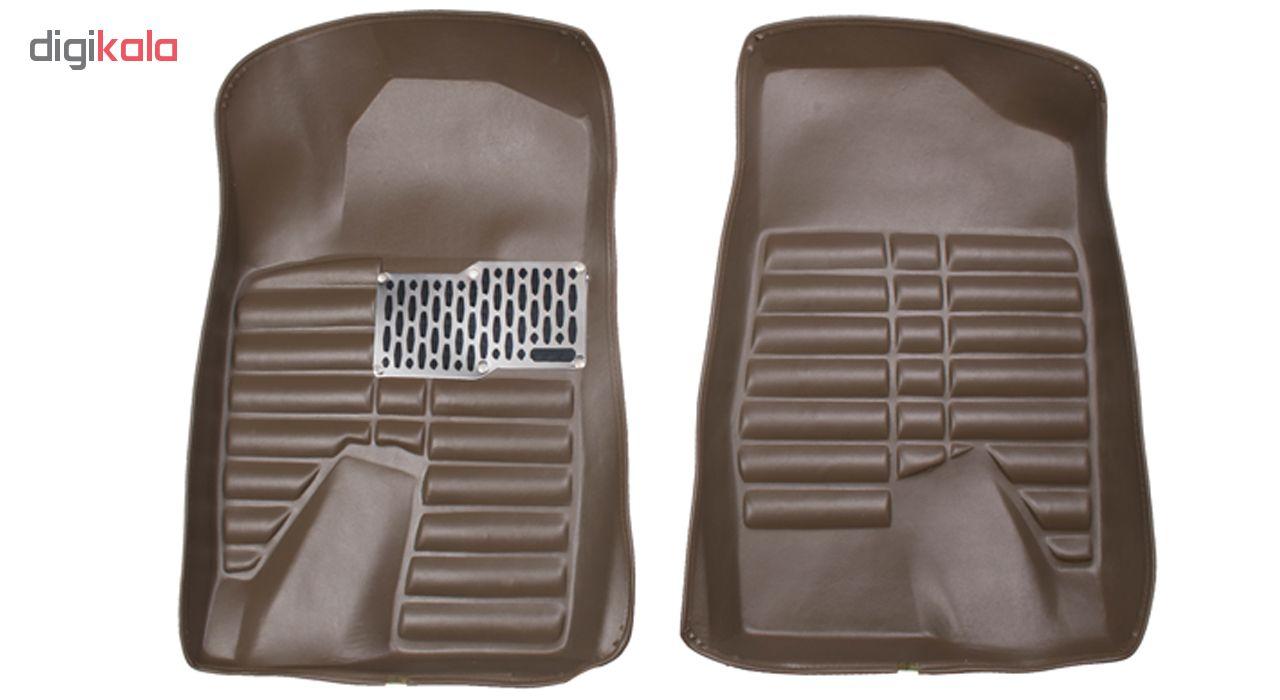 کفپوش سه بعدی خودرو Sport Car مدل P4 مناسب برای پژو 405، پرشیا، سمند و رانا