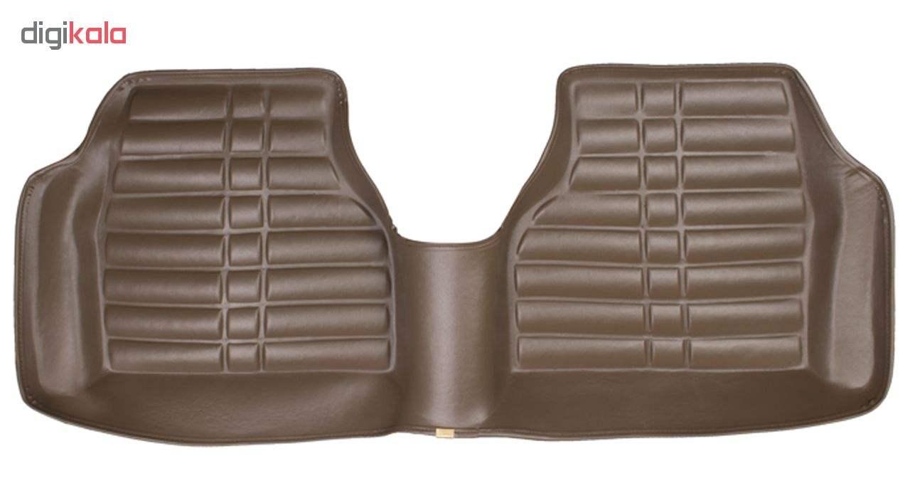 کفپوش سه بعدی خودرو Sport Car مدل P4 مناسب برای پژو 405، پرشیا، سمند و رانا main 1 3