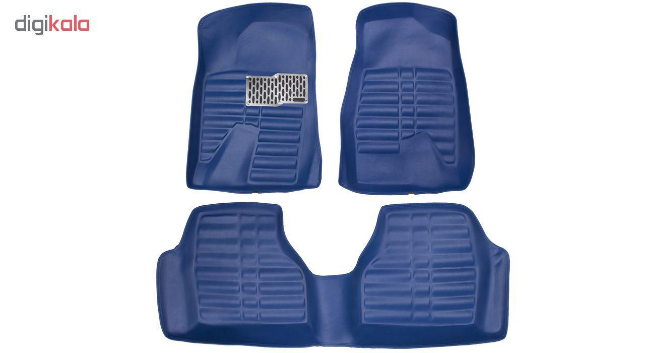 کفپوش سه بعدی خودرو Sport Car مدل P2 مناسب برای پژو 405، پرشیا، سمند و رانا main 1 1