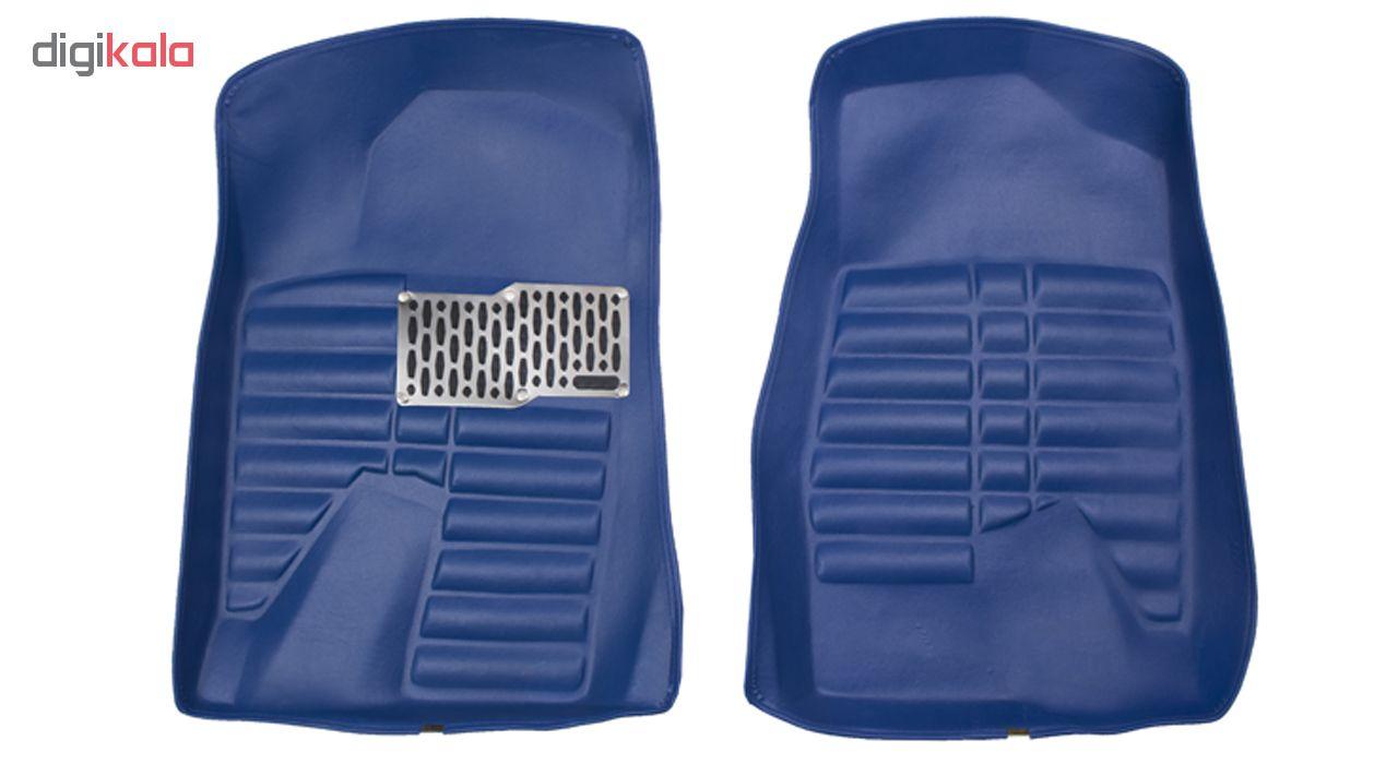 کفپوش سه بعدی خودرو Sport Car مدل P2 مناسب برای پژو 405، پرشیا، سمند و رانا main 1 2