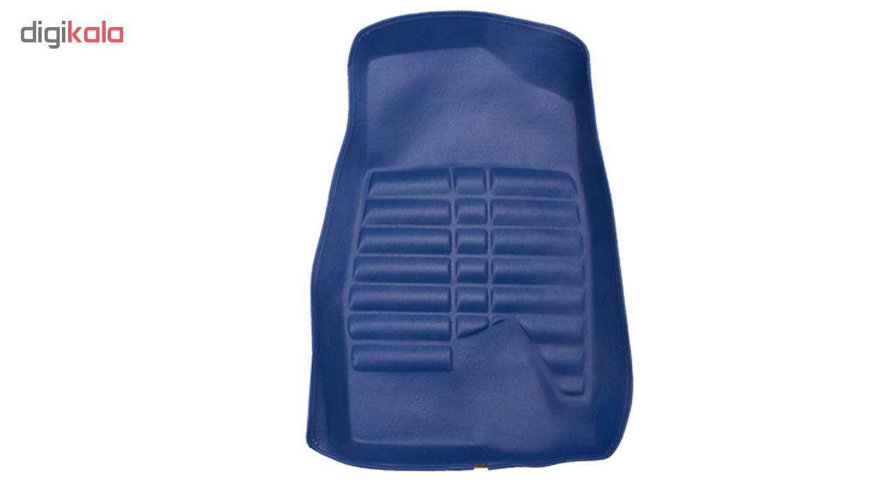 کفپوش سه بعدی خودرو Sport Car مدل P2 مناسب برای پژو 405، پرشیا، سمند و رانا main 1 5