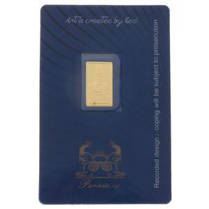 طلای گرمی 24 عیار پرنیا مدل Amir kabir