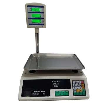 ترازو فروشگاهی اطلس مدل 40kg |