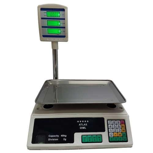 ترازو فروشگاهی اطلس مدل 40kg
