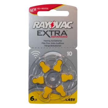 باتری سمعک ریوواک کد 10 بسته 6 عددی