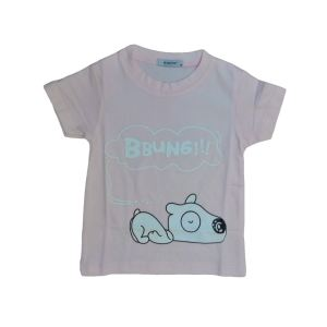 تی شرت آستین کوتاه بچگانه مدل هاپو کد H3