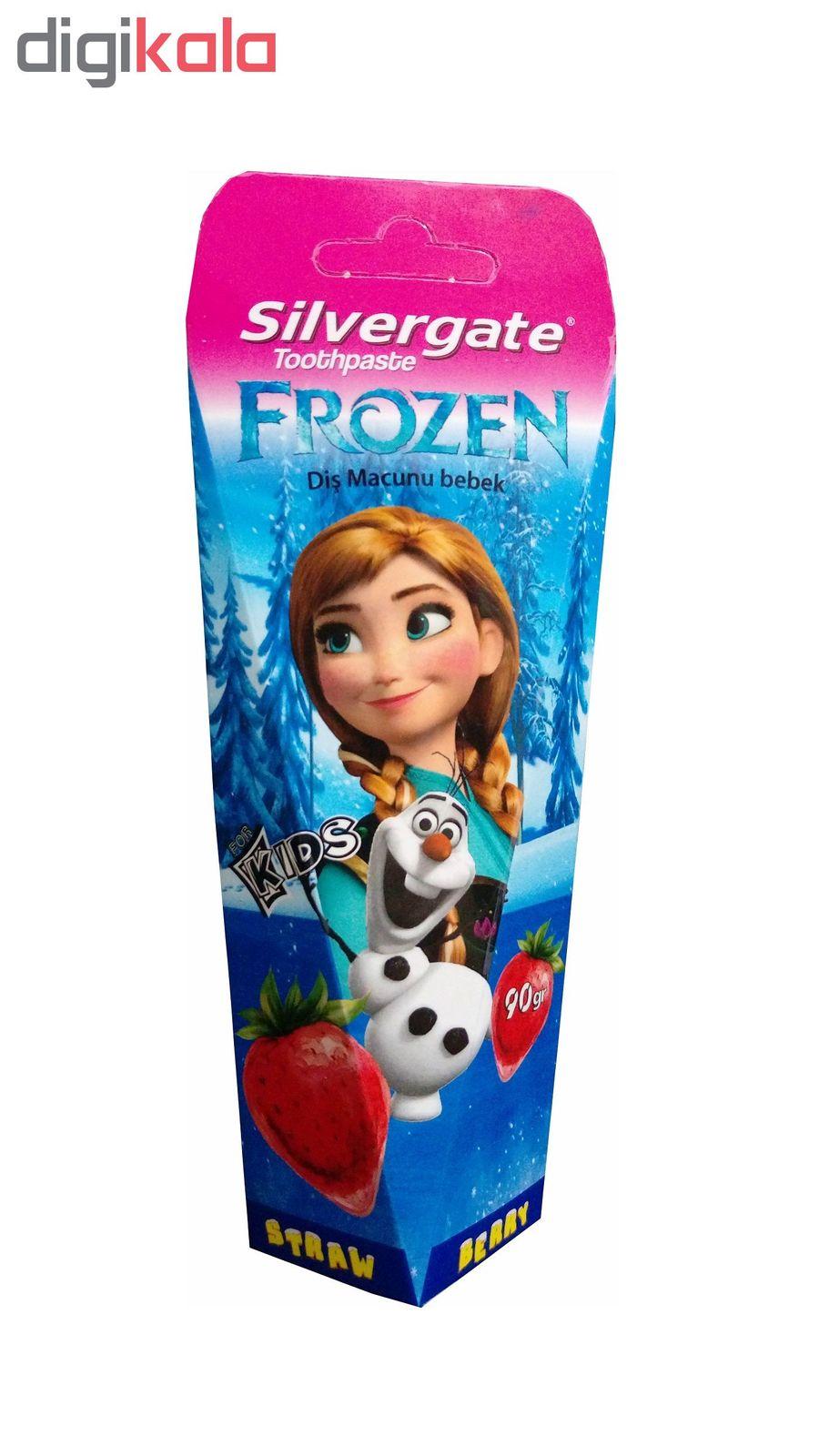 خمیر دندان کودک سیلورگیت مدل Frozen مقدار 90 گرم main 1 1