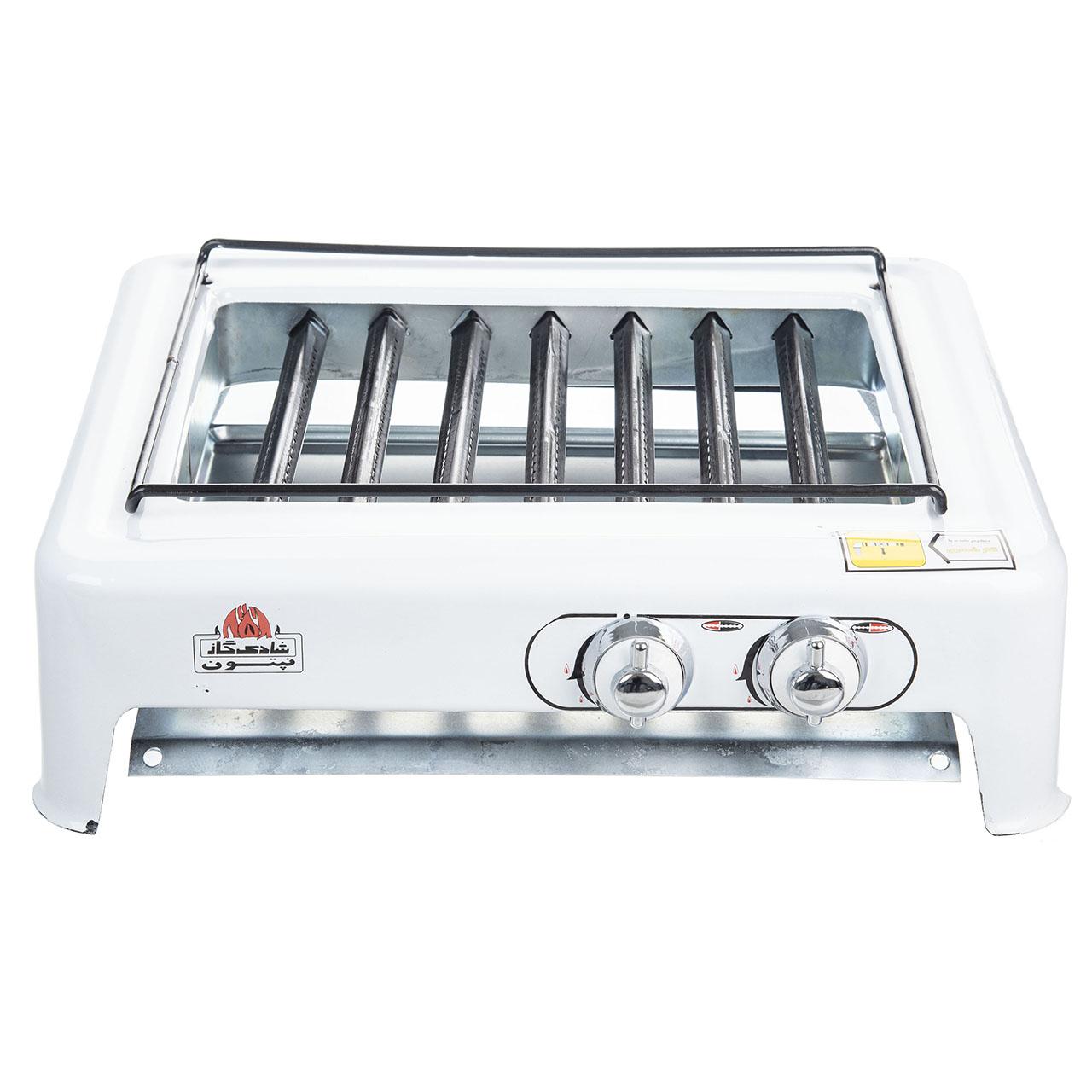 خرید اینترنتی                     کباب پز شادی گاز مدل Roya-01