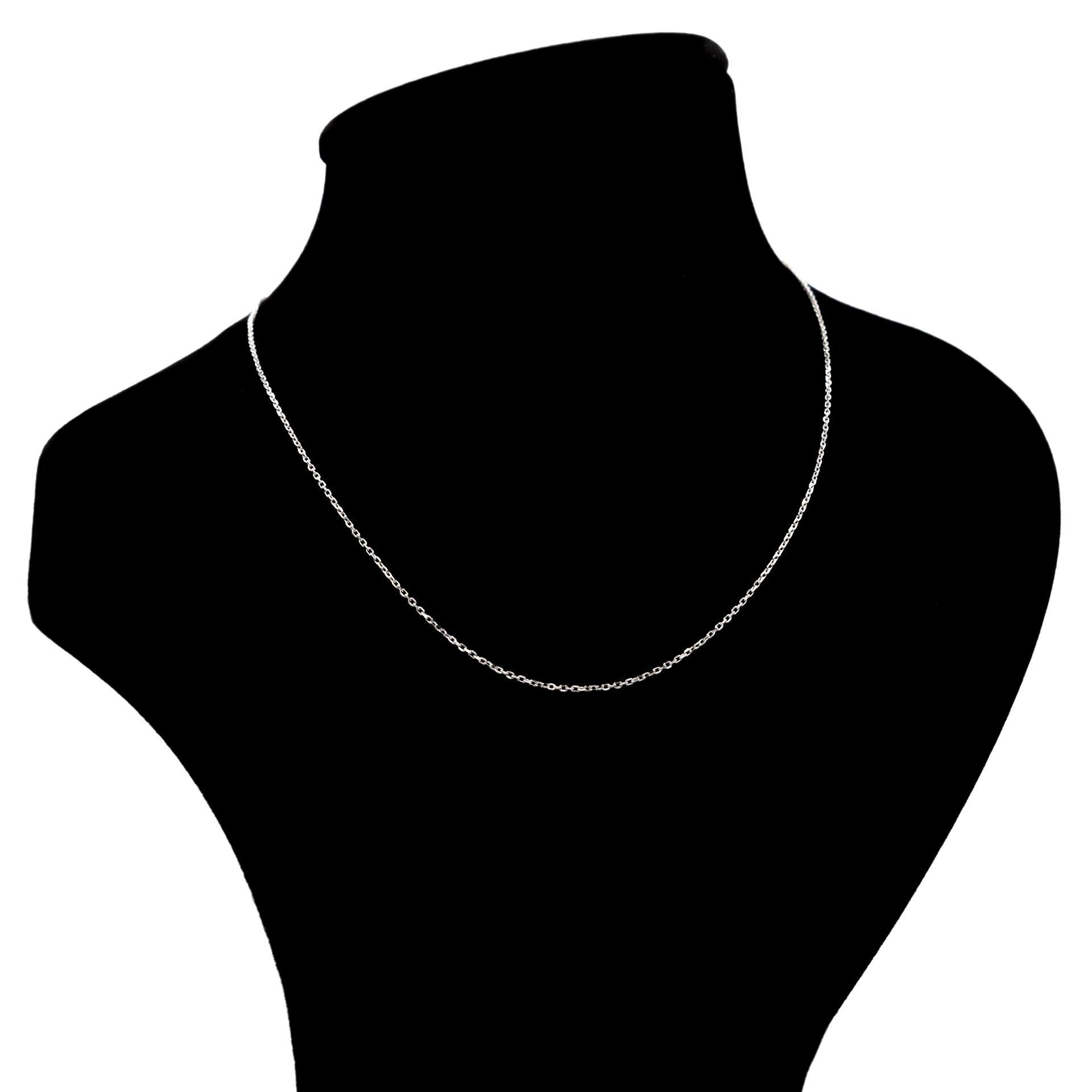 زنجیر نقره بهارگالری مدل Silver Link Chain کد 45