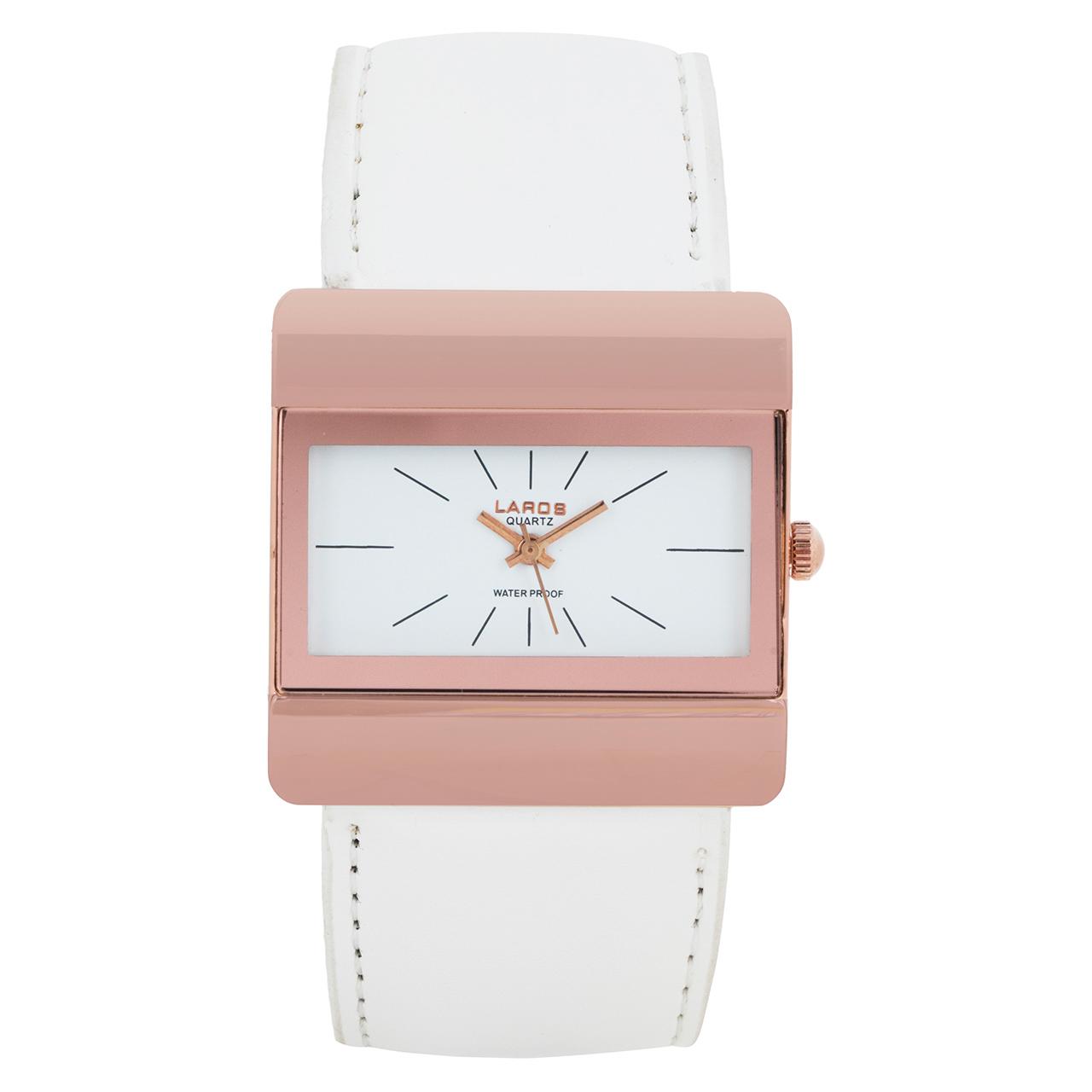 خرید ساعت مچی عقربه ای زنانه لاروس مدل No 0314-79305-a