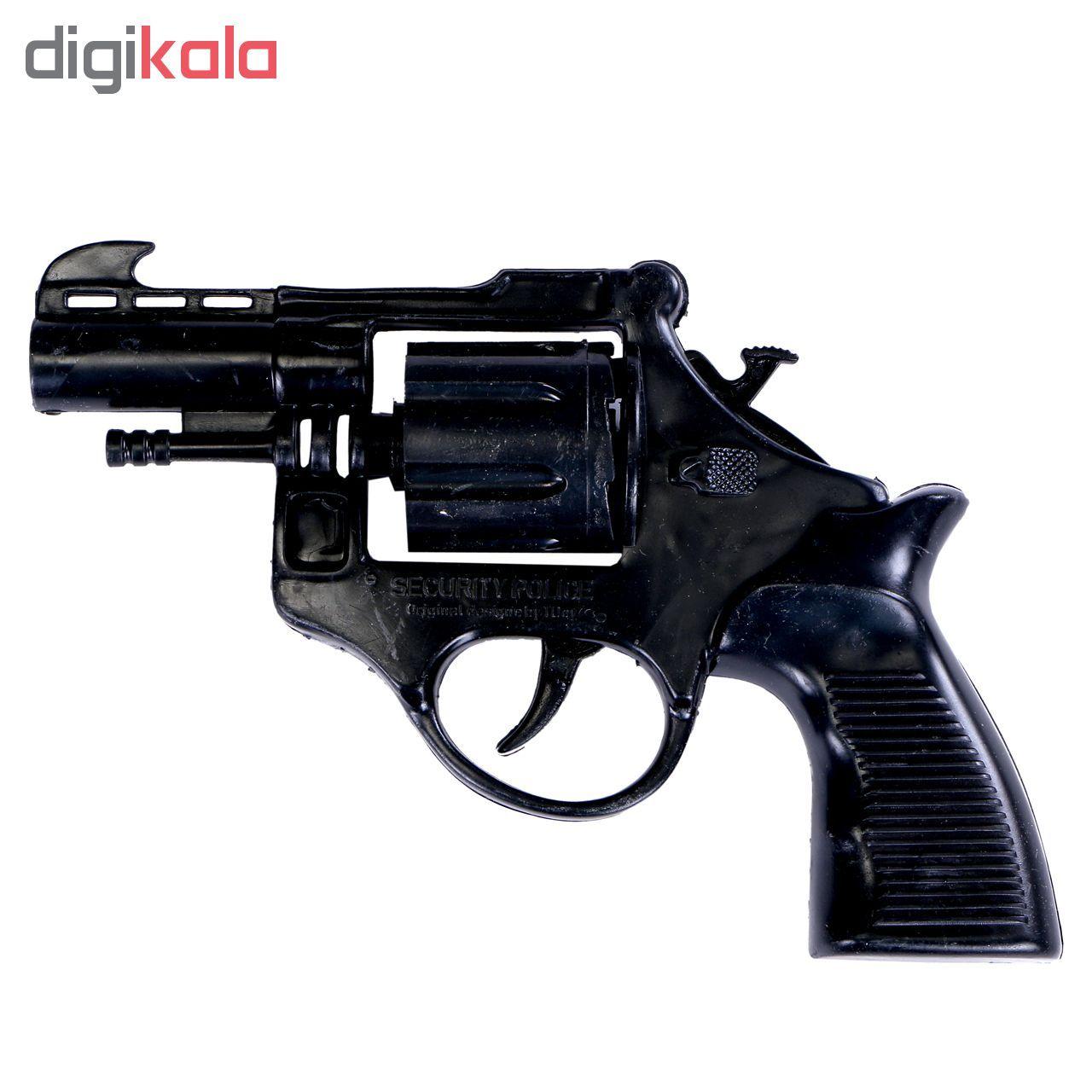 تفنگ اسباب بازی مدل ترقه ای به همراه سه بسته تیر main 1 1