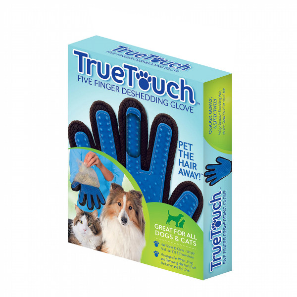 دستکش شانه و ماساژ سگ و گربه تروتاچ مدل Five Finger