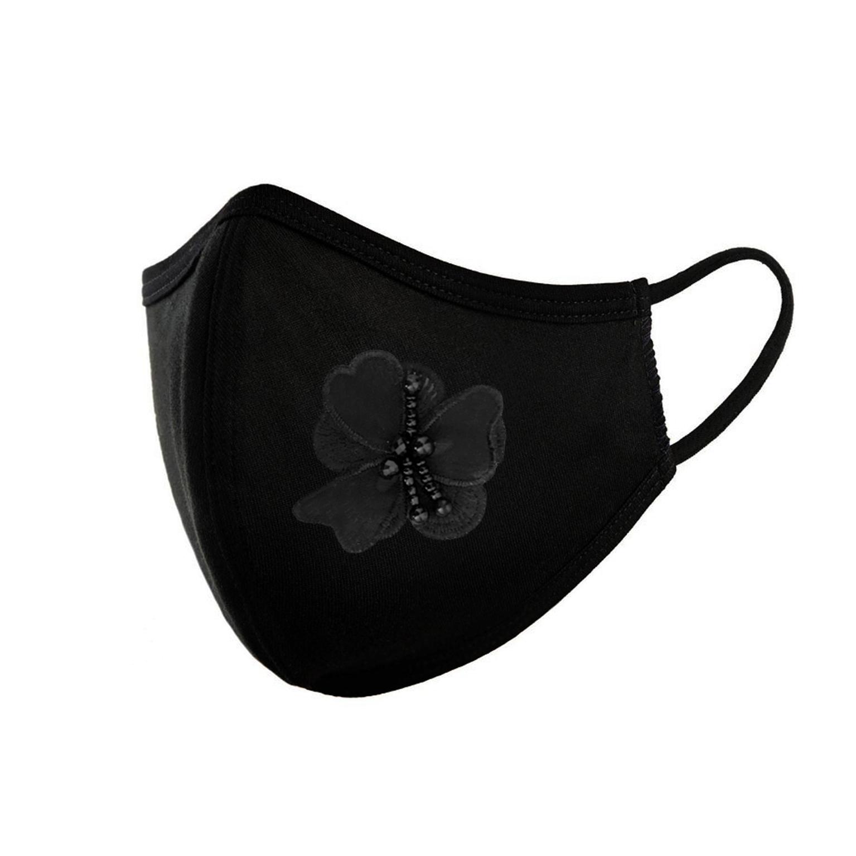 ماسک تزیینی زنانه طرح گل کد M300