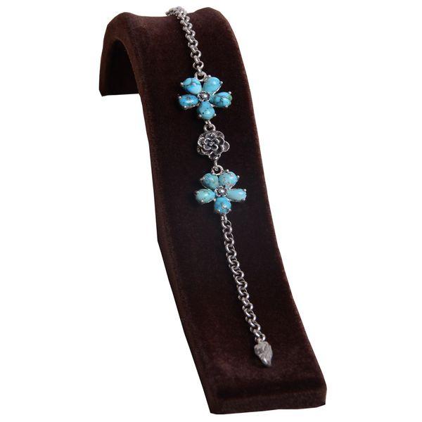 دستبند زنانه نقره کد DZ110