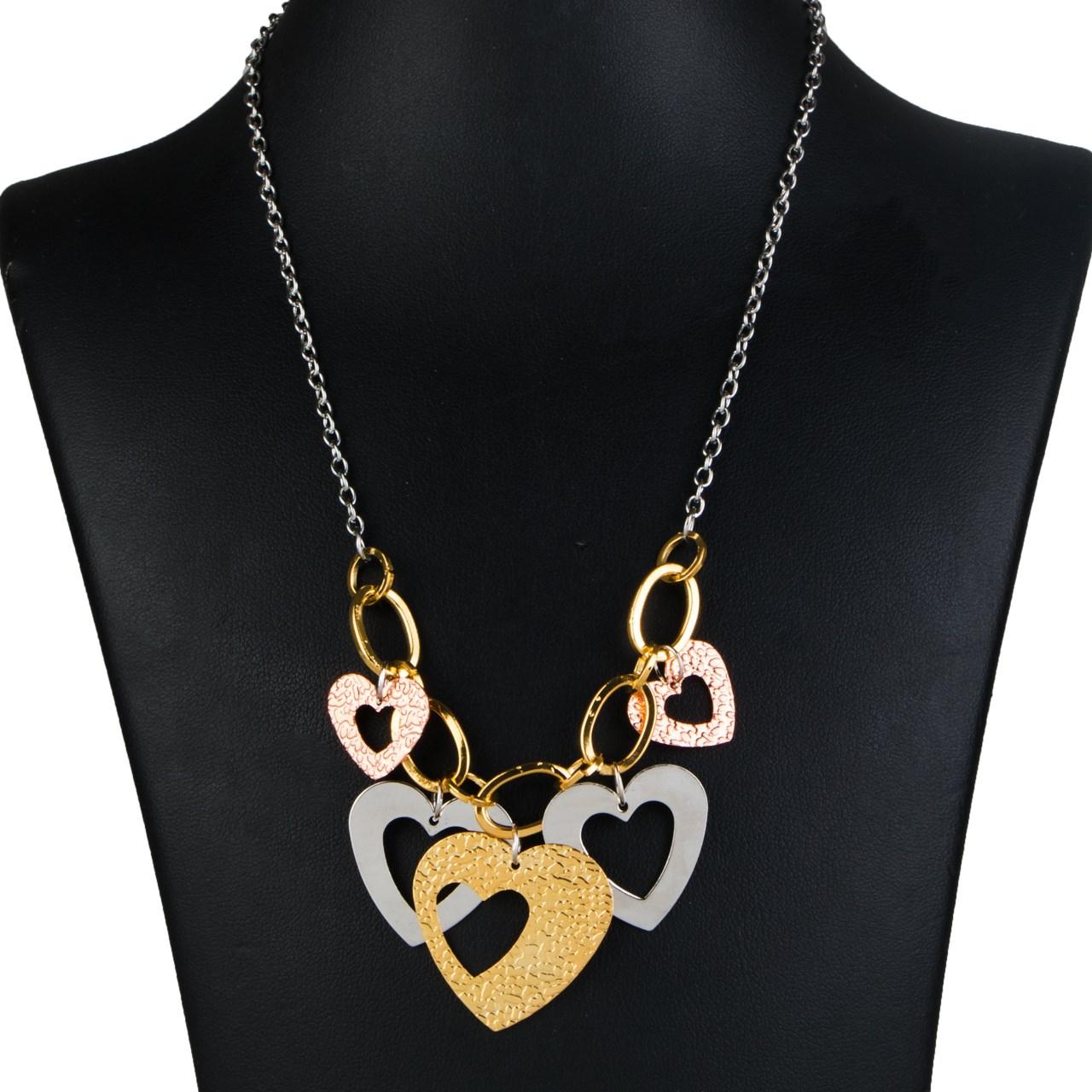 قیمت گردنبند طرح قلب مدل MB001
